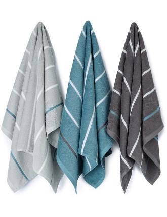 Lorie Tea Towel Pack Of 3