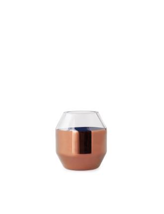 Copper Bevel Copper Small Vase