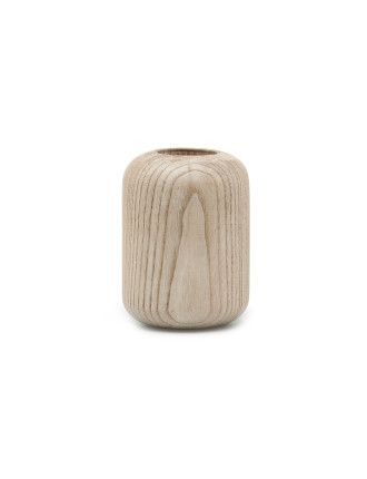 Arch Small Timber Vase