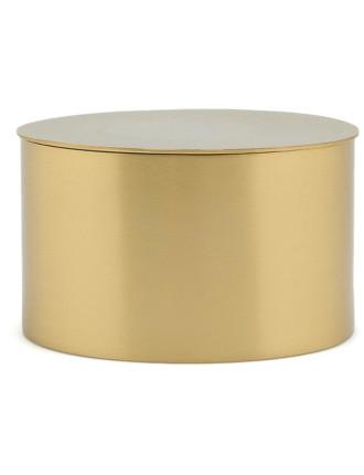 Sully Brass Round Box