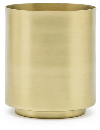 Jodi Brass Small Vase