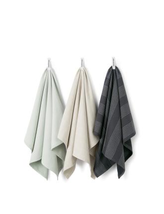 Alin Tea Towel Pack of 3
