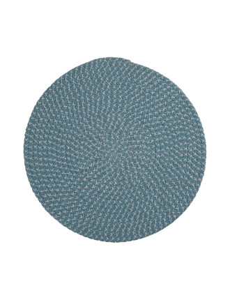 Plaited Round Placemat