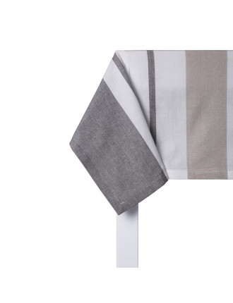 Striped Outdoor Tablecloth