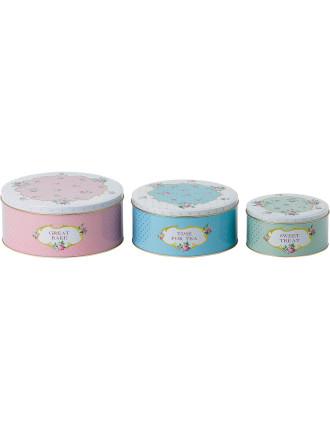 Baking Bliss Cake Tins Set 3