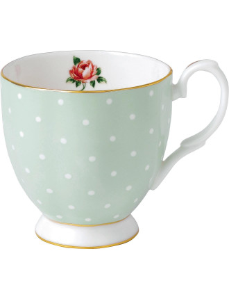 Polka Rose Vintage Mug 300ml