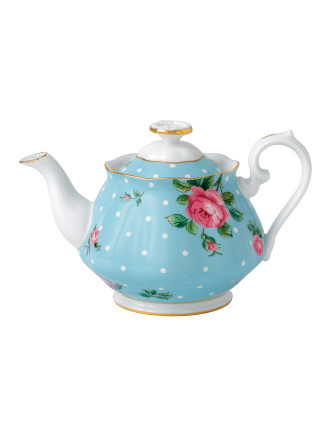 Polka Blue Teapot 450ml