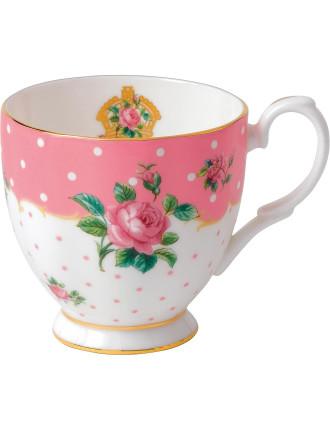 Cheeky Pink Vintage Mug 300ml