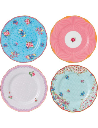 Candy Collection Set 4 Plates 20cm