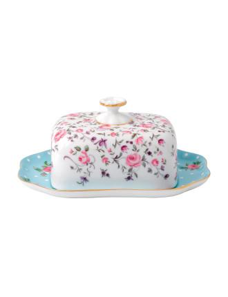 Royal Albert Tea Party Breakfast Covered Butter 18cm