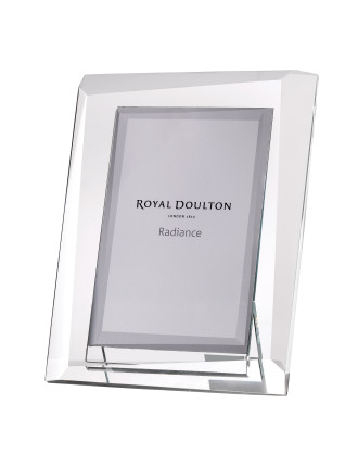 Royal Doulton Radiance Giftware Hex 6x4 Photoframe
