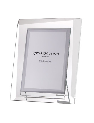 Royal Doulton Radiance Giftware Hex 7x5 Photoframe