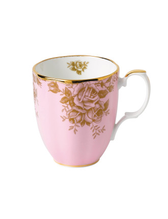 Royal Albert 100 Years Mug 1960 Golden Roses