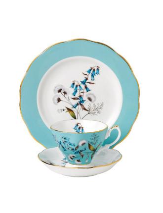 Royal Albert 100 Years 1950 Festival Teacup, Saucer & Plate