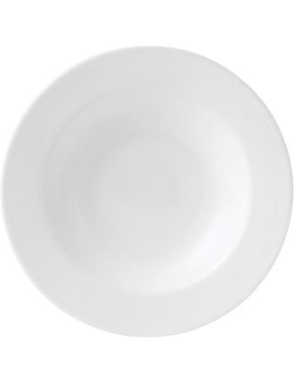 Signature White Rim Soup 21cm