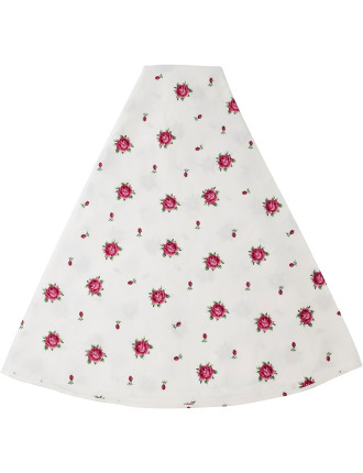 New Country Roses White Round Tablecloth 180cm