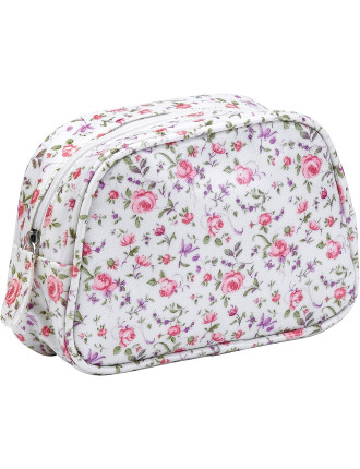 Rose Confetti Make Up Bag