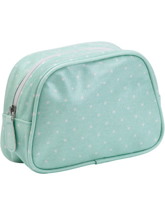 Polka Rose Make Up Bag