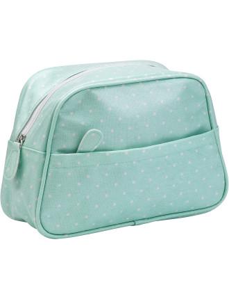 Polka Rose Wash Bag