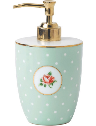 Polka Rose Soap Dispenser