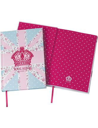 Pastel Union Jack A5 Notebook
