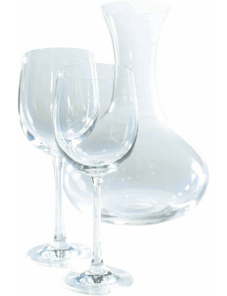 Glass Sets Carafe & Wine Set of 6