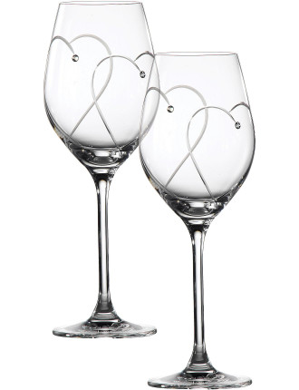 Promises Two Hearts Entwined Wine Pair