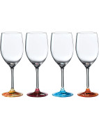 Pop In For Drinks Wine Set of 4 Colours $69.95