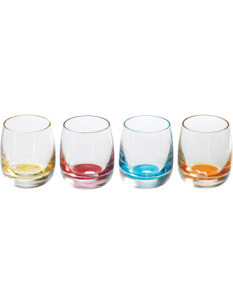 Pop In For Drinks Shot Set of 4 Colours