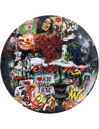 Street Art Nick Walker Mood BoaCollage Plate 27cm