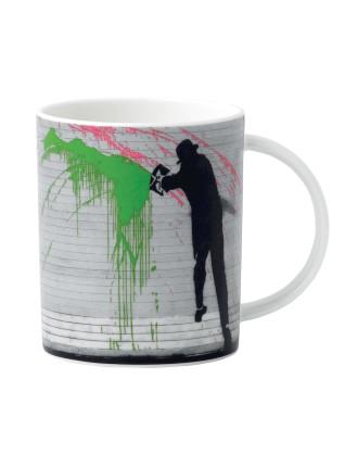 Street Art Nick Walker Chuckers Mug 350ml