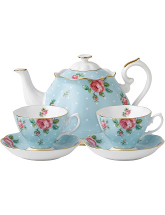 Polka Blue Tea for Two