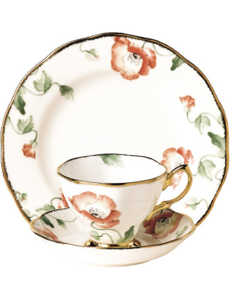 100 Years 1970s Teacup/Saucer/Plate