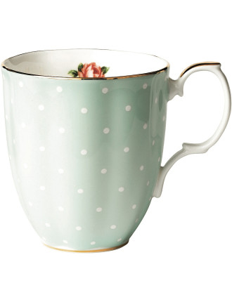 100 Years 1930s Polka Rose Mug