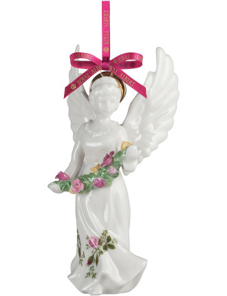 Old Country Roses Angel Decoration