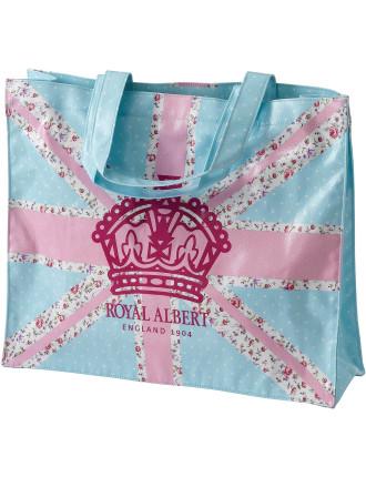 Pastel Union Jack Shopping Bag