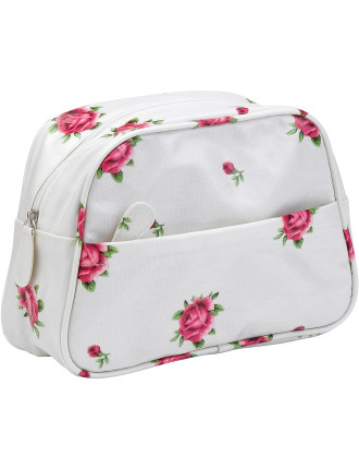 New Country Roses White Wash Bag