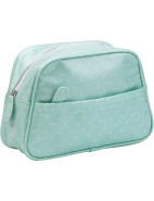 Polka Rose Wash Bag $29.95