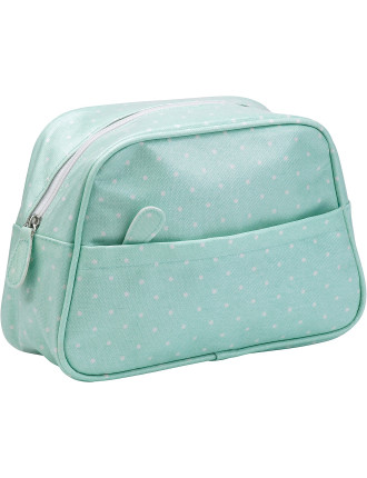 Polka Rose Wash Bag