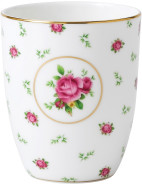 New Country Roses White Beaker $19.95