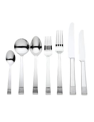 Vera Wang Blanc 56pce Cutlery Set
