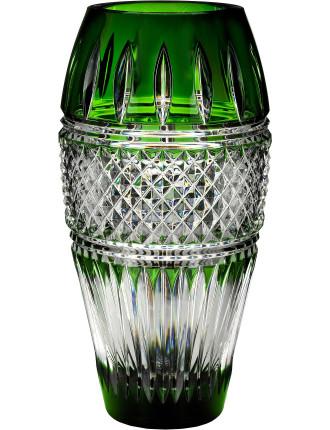 Waterford Irish Lace Emerald Vase 30cm