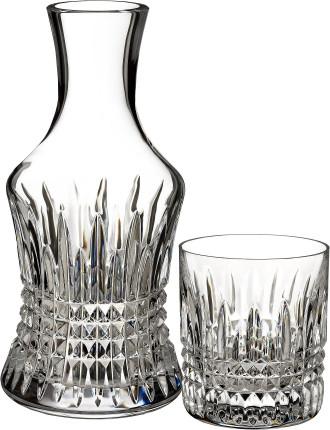 Waterford Lismore Diamond Carafe & Tumbler