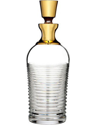 Waterford 'Mad Men' Circon Gold Decanter