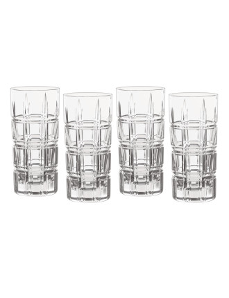 Marquis Crosby Barware Hi Ball Set 4