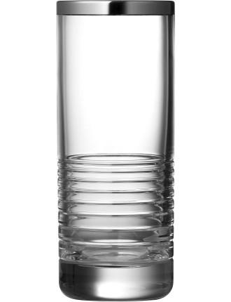 Vera Wang Grosgrain Nouveau Platinum Vase 20cm