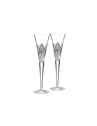 Waterford Crystal Times Square 2016 Flute Pair