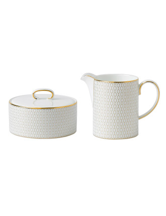 Arris Covered Sugar and Creamer 230ml