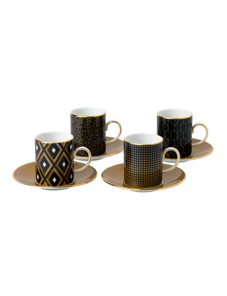 Ww Arris Dw Esp Cup and Saucer X 4bxd