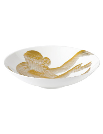Wedgwood Gilded Muse Shallow Bowl 33cm